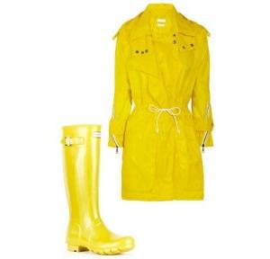 Rain coats & Sets of Gum boots
