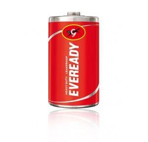 Eveready D Zinc Carbon Battery