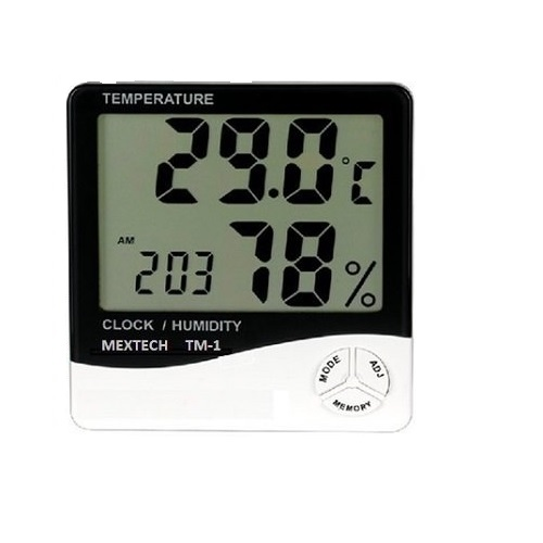 Mextech Thermo Hygrometer, TM-1
