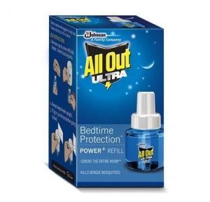 All Out Ultra Mosquito Vaporiser Refill, 45 ml