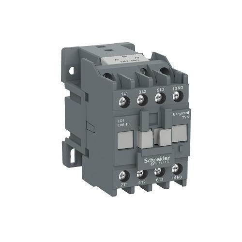 Schneider EasyPact TVS 25A 1NO 3P AC Control Power Contactor, LC1E1210