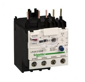 Schneider TeSys LRD 1.8-2.6A 1NO+1NC Thermal Overload Relay, LR2K0308