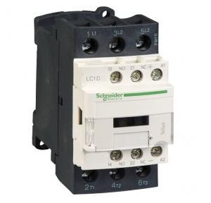 Schneider TeSys D 25A 1NO+1NC 3P DC Low Consumption Power Contactor, LC1D09