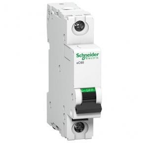 Schneider XC60 10A 1P C-Curve AC MCB, A9N1P10C