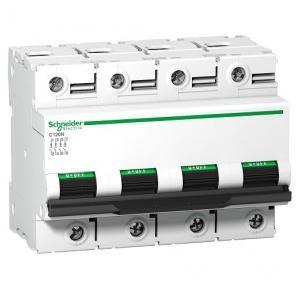 Schneider C120N 80A 4P AC MCB (10kA), A9N18372