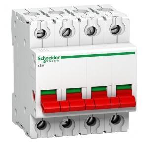 Schneider xSW 125A 4P Isolator A9S4P125