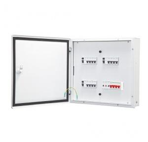 Schneider 4 Way eco TPN Double Door Distribution Board A9HTND04E