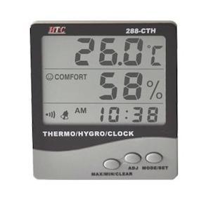 HTC Digital Indoor Outdoor Hygrometer, 288-ATH