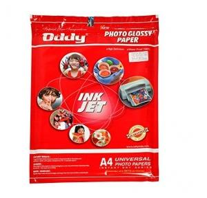 Oddy Photo Glossy Paper A4, 180 GSM (50 Sheets)
