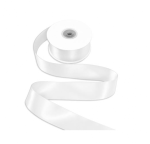 Satin Ribbon White 3mtr
