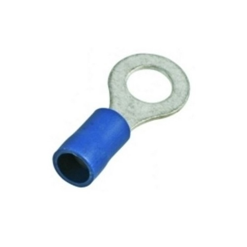 Dowells Copper Ring Terminal Double Grip Pre -Insulated 1.5 Sqmm 6(E), PSD-7450