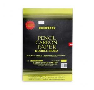 Kores Double Sided Carbon Paper (Pack of 100 Sheets)