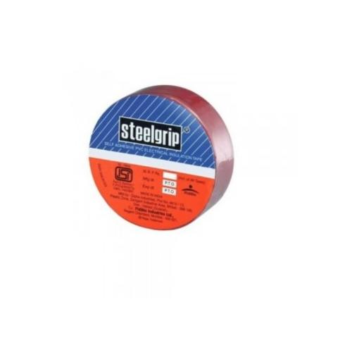 Steelgrip Self Adhesive PVC Electrical Insulation Tape, 1.8cm x 6.5m x 0.125mm