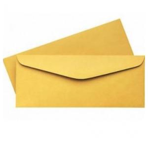 Worldone WPS1105YL Super Yellow Laminated Envelopes 100 Gsm, Pack of 100
