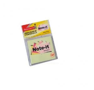 Worldone WPS003A Note it reminder pad 75 mm x 75 mm,100 sheets