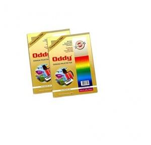 Oddy Clear Transparent Polyster Film Pack Of 100 Sheet, CT125A4100