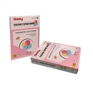 Oddy UnCoated Dyed Color Papers Pack Of 100 Sheet, FL80A3100