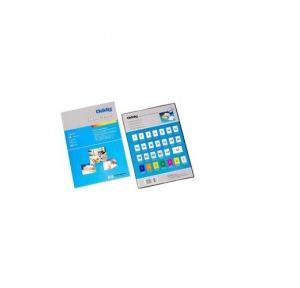Oddy High Quality 6 Cd Label Sheet Cromo Glossy Paper, ST6CDA3100