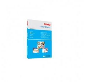 Oddy Digital Label Sheet Pack Of 100 Sheet , DGLS-1218