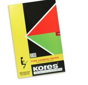 Kores Typewriter Carbon Paper (Pack of 100 Sheets)