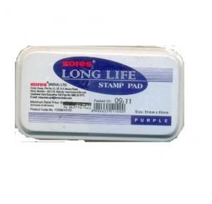 Kores Long life stamp pad, small (51 mm x 95 mm)