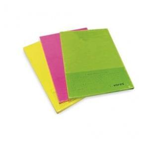 Kores Crescent Fluorescent Multi Copier Paper, 210 mm x 297 mm,Pink (500 Sheets)