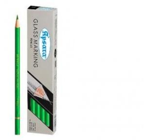 Apsara Glass Marking Pencil Green (Pack of 10)