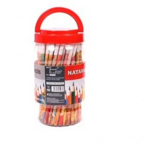 Nataraj Metllic Pencil jar (pack of 100)