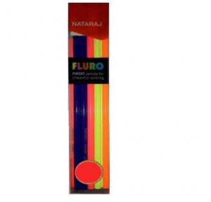 Nataraj Fluro Pencils (Pack of 100)