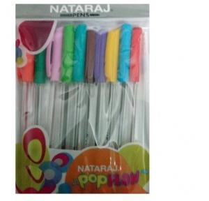 Nataraj Pop Flow Colorful Ink B.Pen Asrt Pack of 5