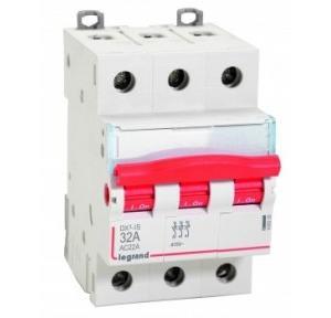 Legrand 63A 3P Isolator, 4065 11