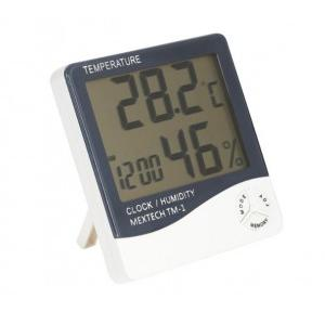 Mextech Thermo Hygrometer Clock TM-1 with Calibration Certificate