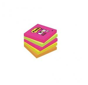 Stick on Sticky Notes, 127mm x 76 mm, (5 x 3 Inch) Multicolor