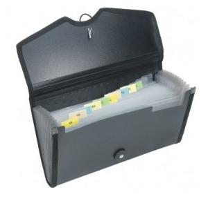 Worldone Cheque Book Expanding Folder (FL03)