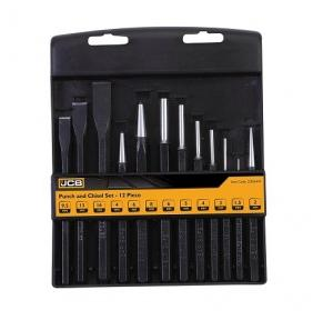 JCB 12 Pc Punch & Chisel Set, 22026449