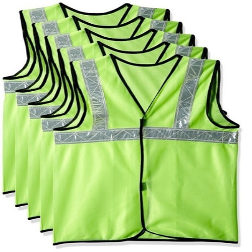 Safari Pro Green 2 Inch Reflective Safety Jacket, Fabric Type