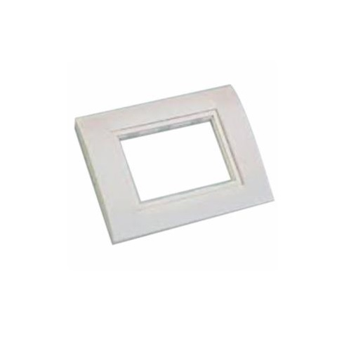 Anchor Roma Classic 8M Deko Single Mounting Plate, 30431WH