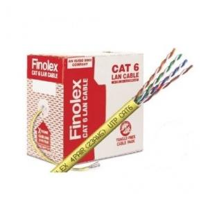 Finolex CAT 6 UTP 4 Pair Lan Cable, (305 Mtr)