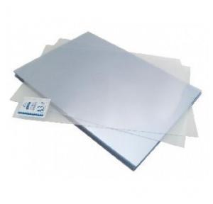 Agarwal White PVC Binding Sheet White, Size: A4, 100 Sheets