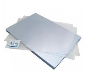 Agarwal White PVC Binding Sheet Blue, Size: A4, 100 Sheets
