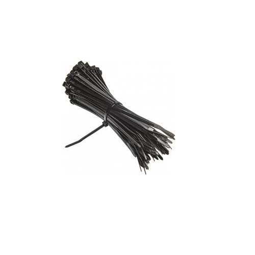 Cable Tie Black, 300 mm (100 Pcs)