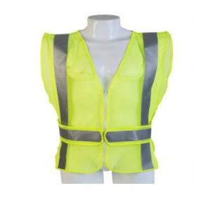 Safety Jackets  Polyester Type Heavy 120 GSM, PVC Reflective Tape Orange, Green