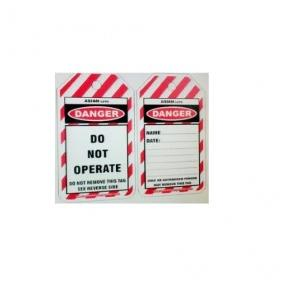 Asian Loto ALC OSPL Double Colour Printing Do not Operate Lockout Tag