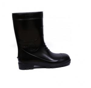 Gum Boot Black, Size-8