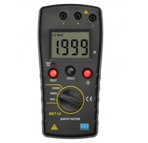 Motwane Digital Earth Resistance Tester With 450 mm Spike Kit, MET-10