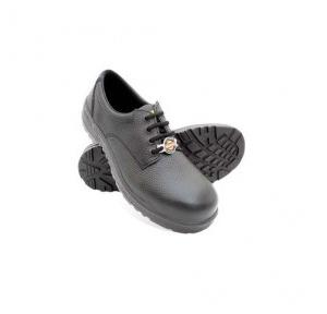 Liberty Warrior Black Safety Shoes, 7198-01, Size: 5
