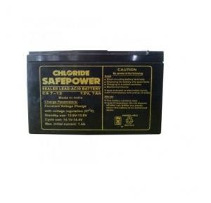Exide Chloride Safe Power Battery 12V 7Ah UPS Battery, CS 7-12