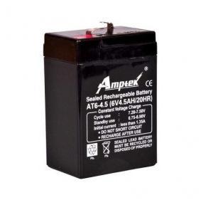 Amptek ATE6-4.5 6V4.5AH Battery