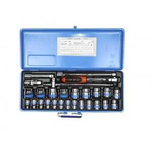 Taparia 1/2 Inch Square Drive Bihexagonal Socket Set, S14MXL