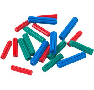 PVC Rawl Plugs, 2 Inch (Pack of 50 Pcs)